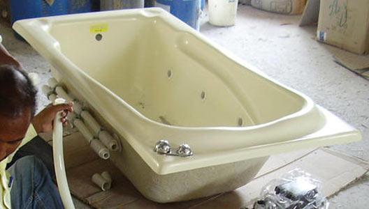 Fiberglass Bath Tubs - Fiberglass Jacuzzi Tubs and Fiberglass ...