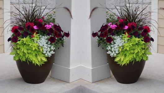 Fiberglass Flower Pots Amp Planters : Fiberglass planters carve flower and